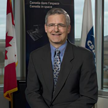 Dr. Marc Garneau Portrait