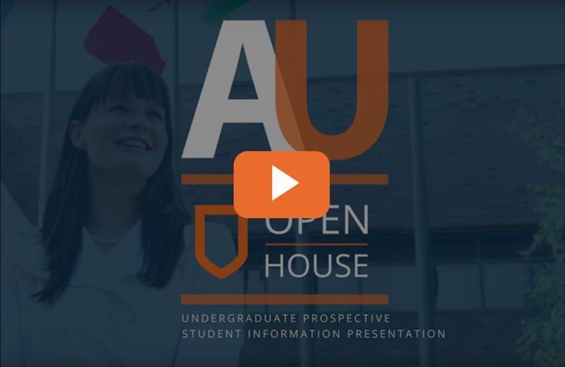 AU open house video